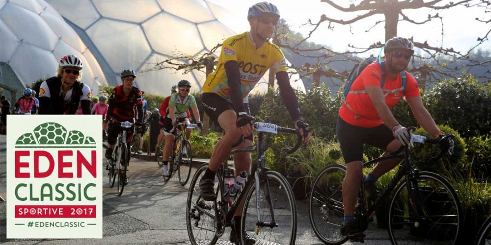cycling at eden project