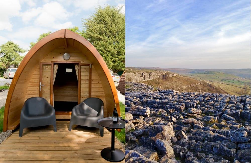 YHA Malham camping pod