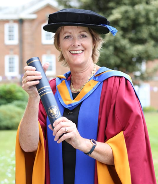 Former Chief Executive of YHA Caroline White receives honorary degree | LivemoreYHA