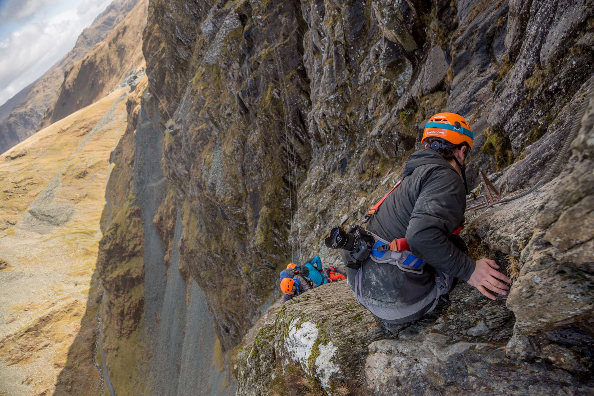 Via Ferrata at Honister Pass