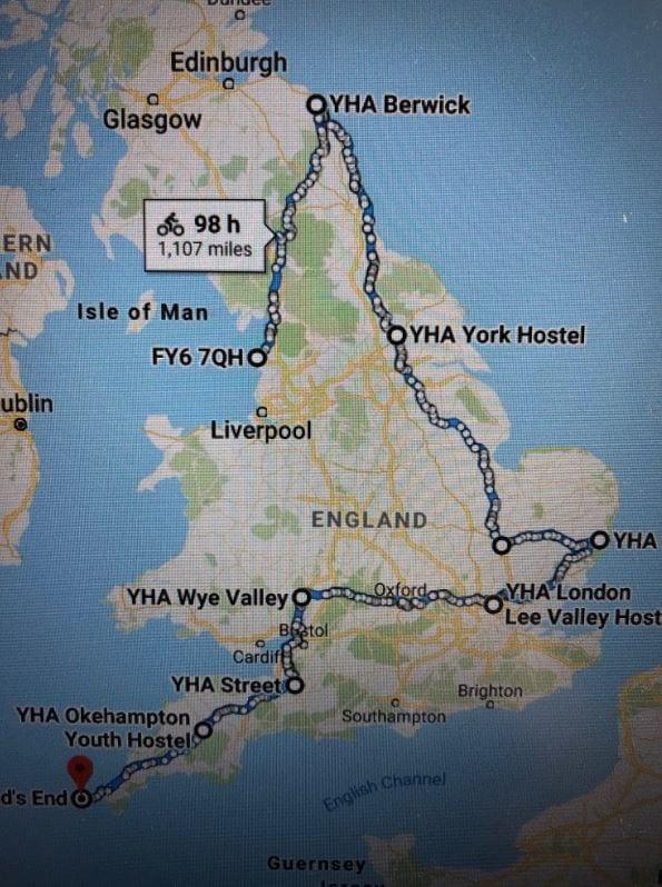 Paul Howlett route