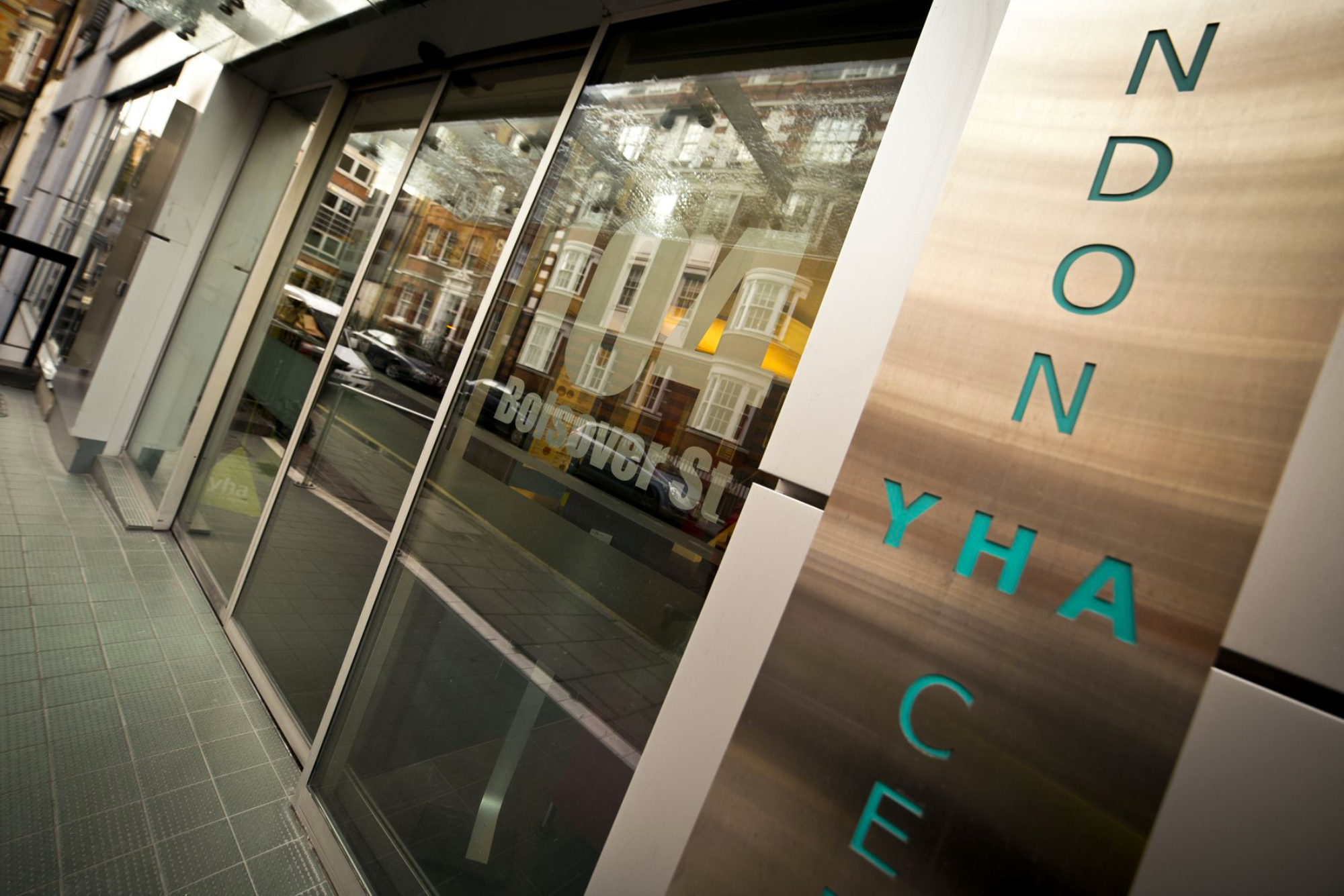 YHA London Central entrance