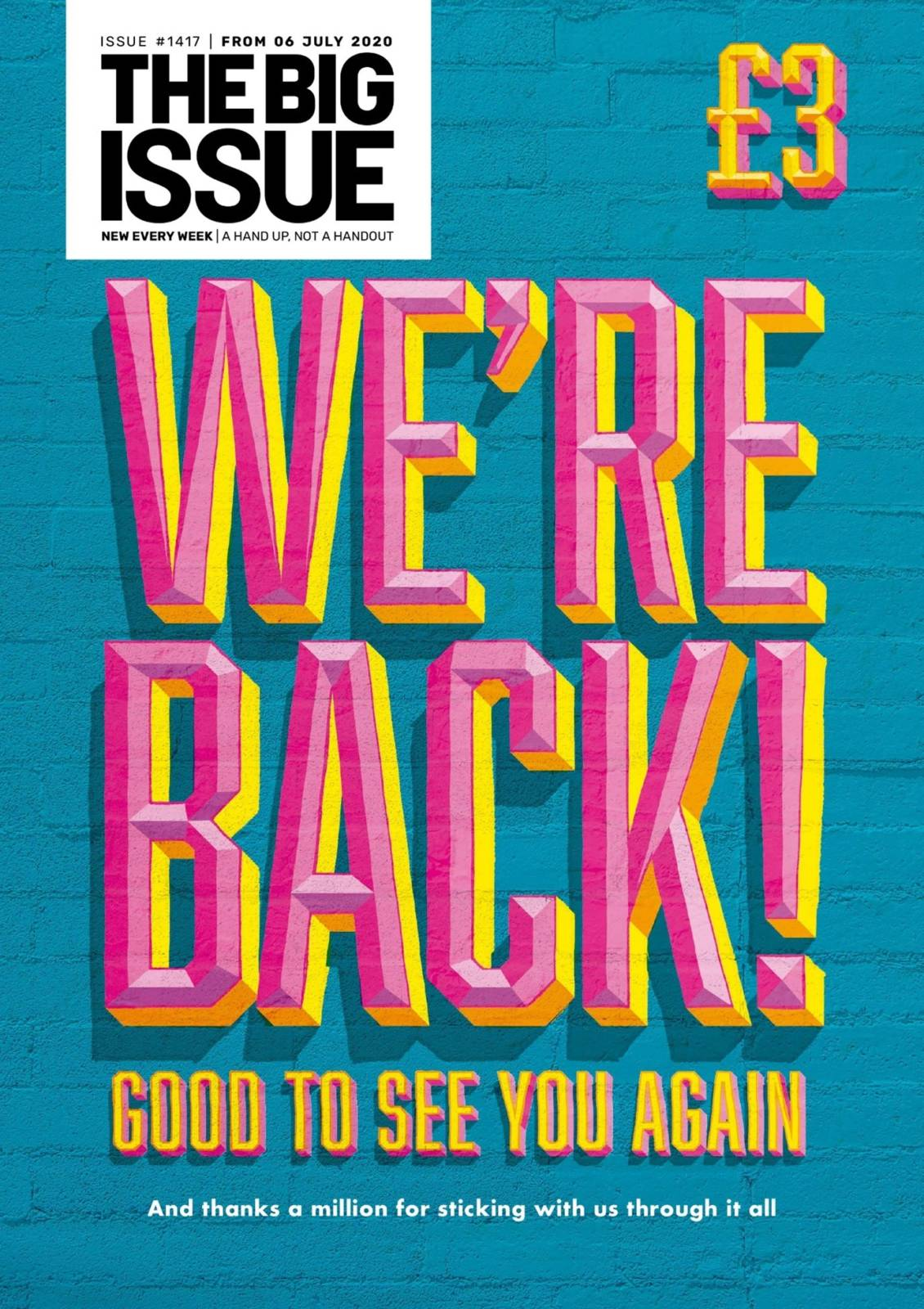 Big Issue magazine cover