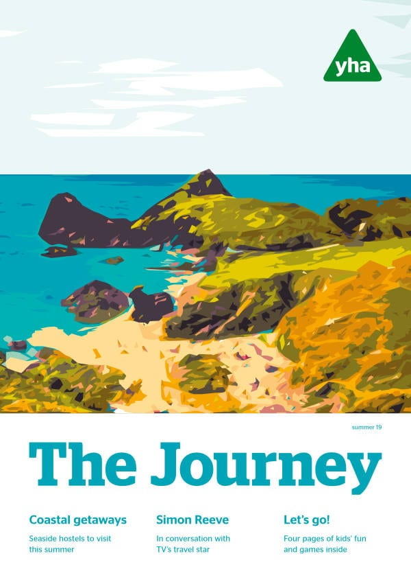 The cover of The Journey Summer 2019