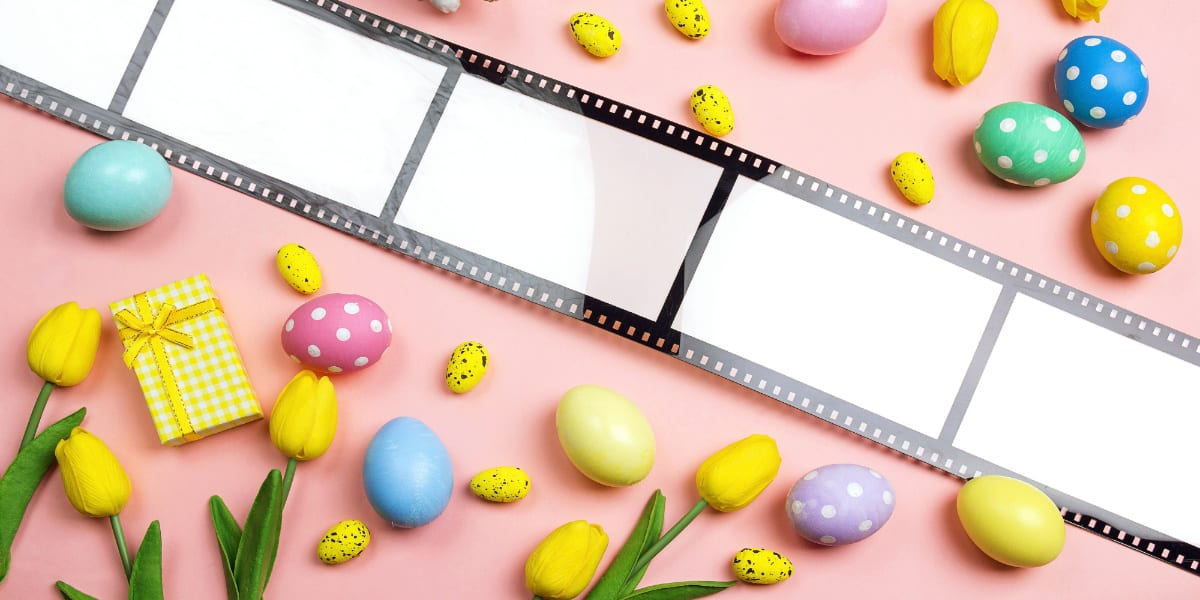 Easter film reel