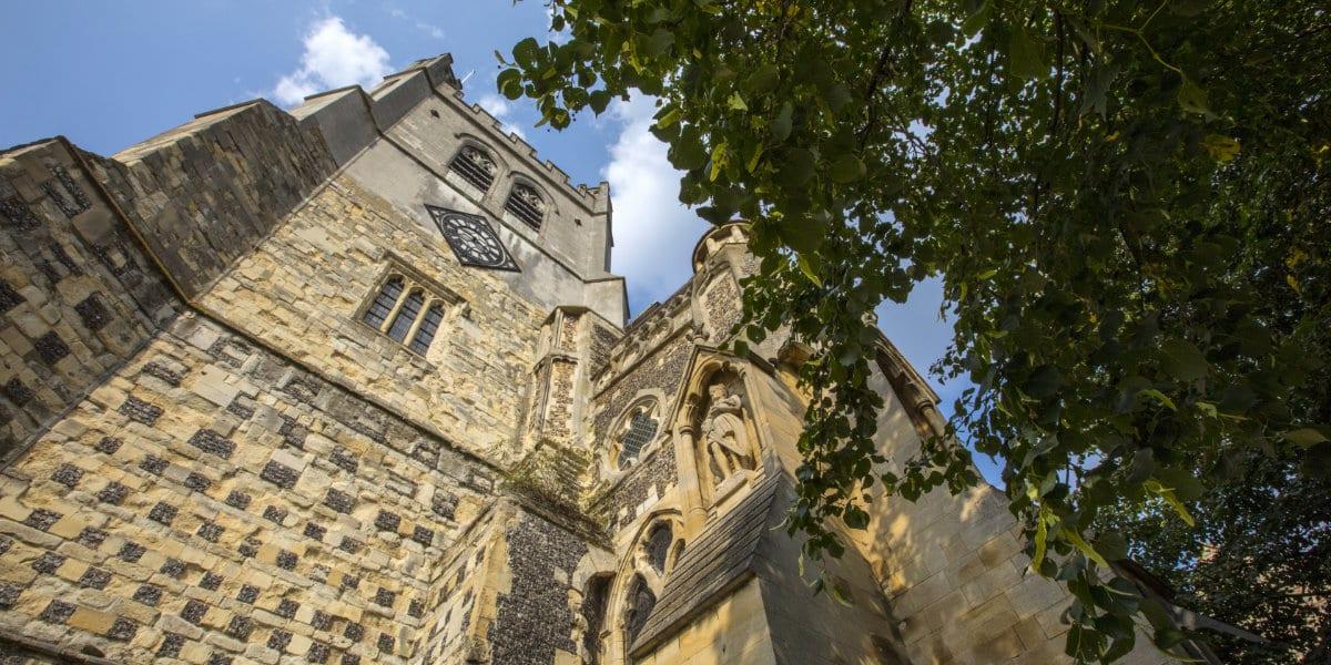 Waltham Abbey Church in Essex