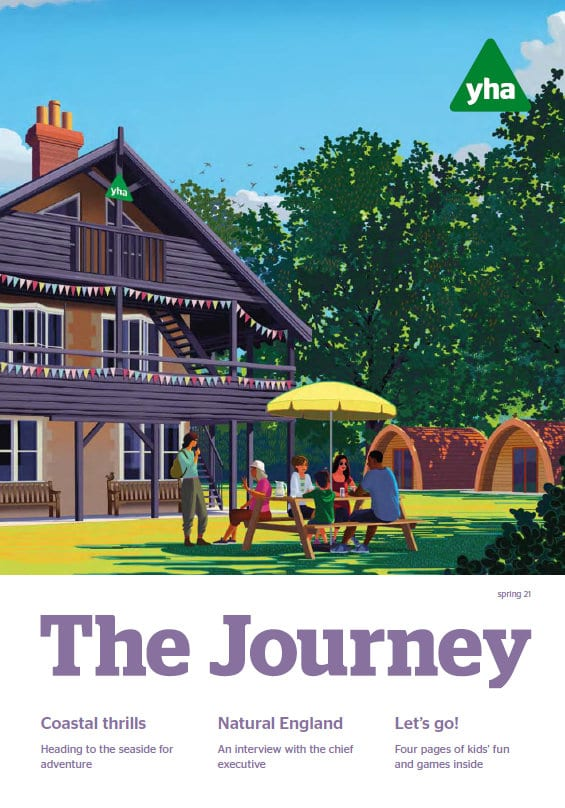 The Journey Spring 2021 cover