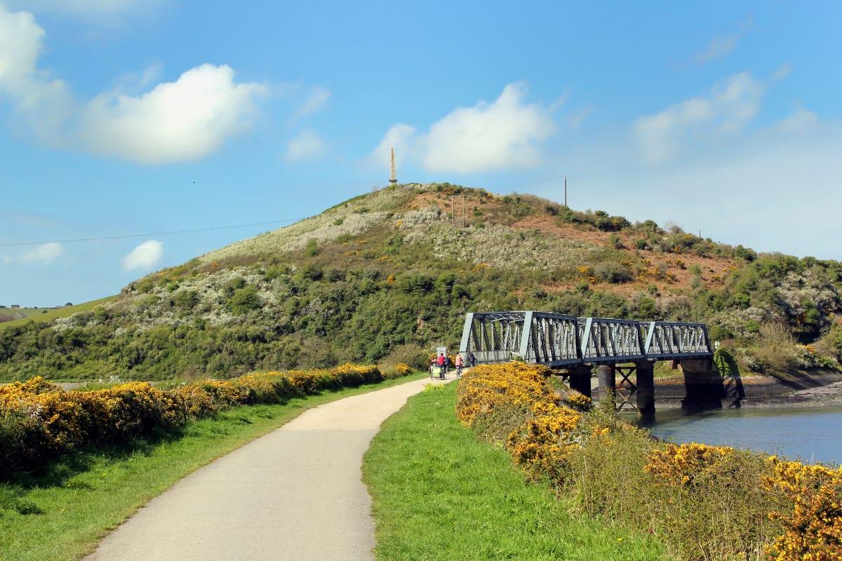 Bridge in countryside