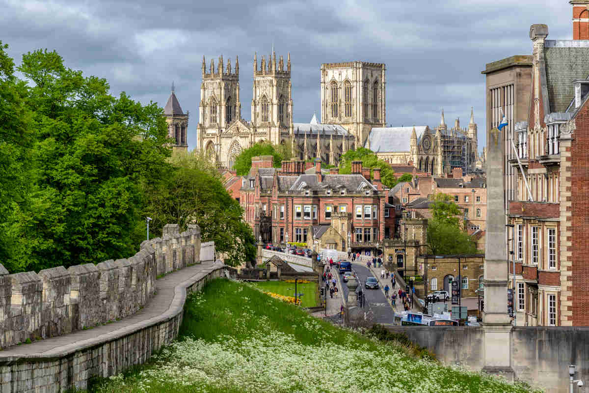 Cathedral York minster, England