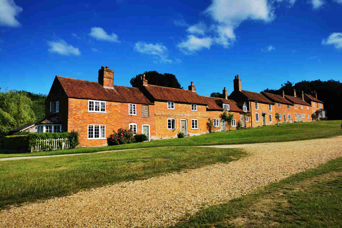Historic Buckler's Hard in the New Forest