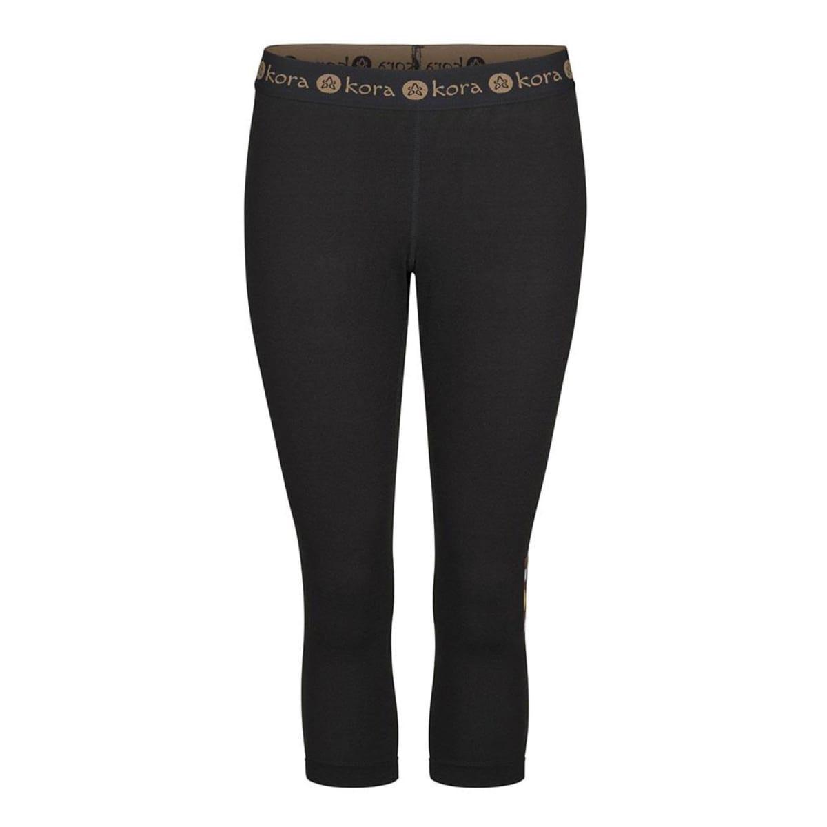 Kora women's base layer bottoms black