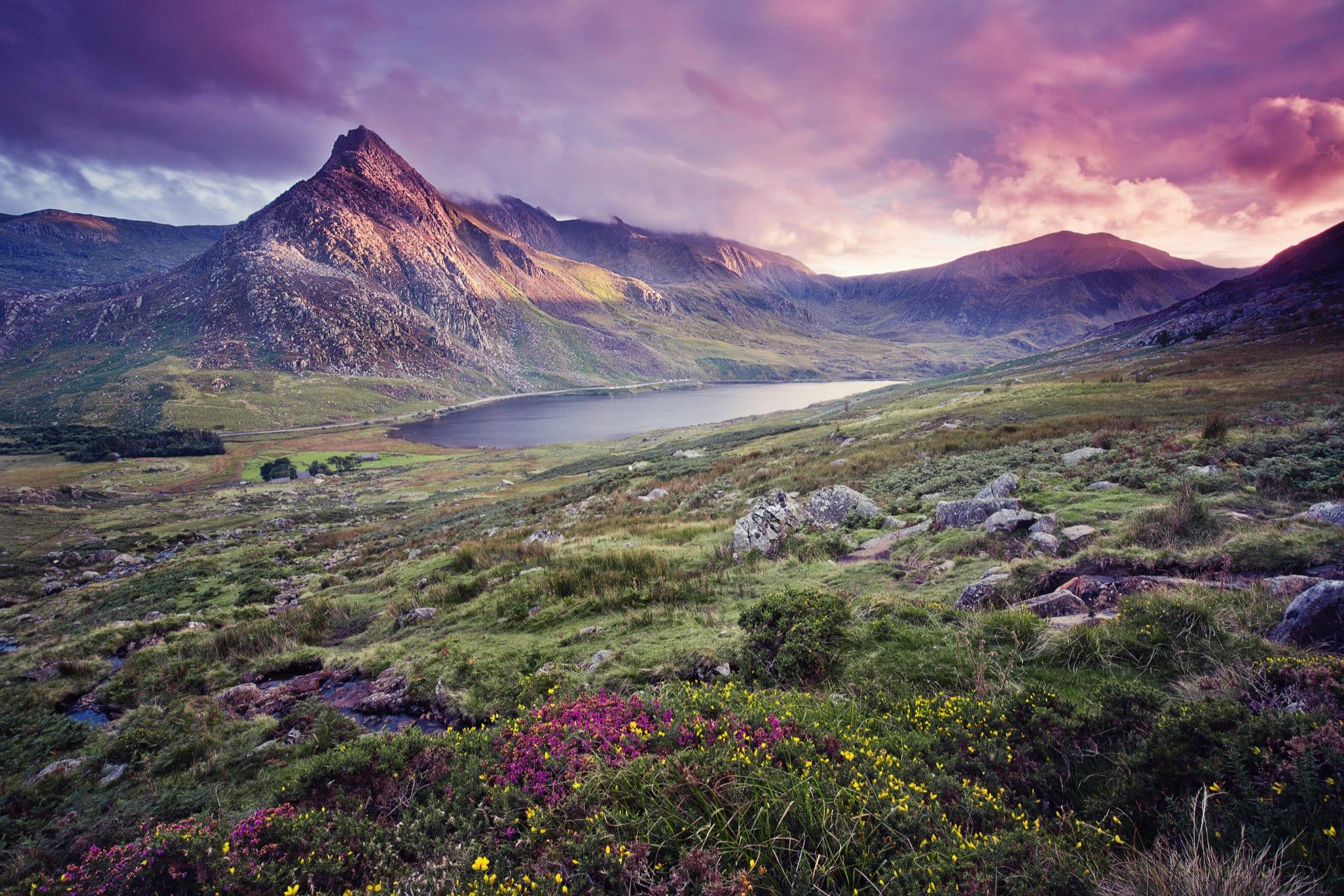 Snowdonia atmospheric view