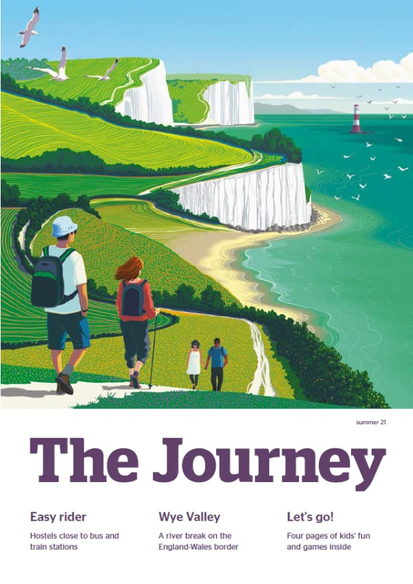 The Journey: summer 21 cover