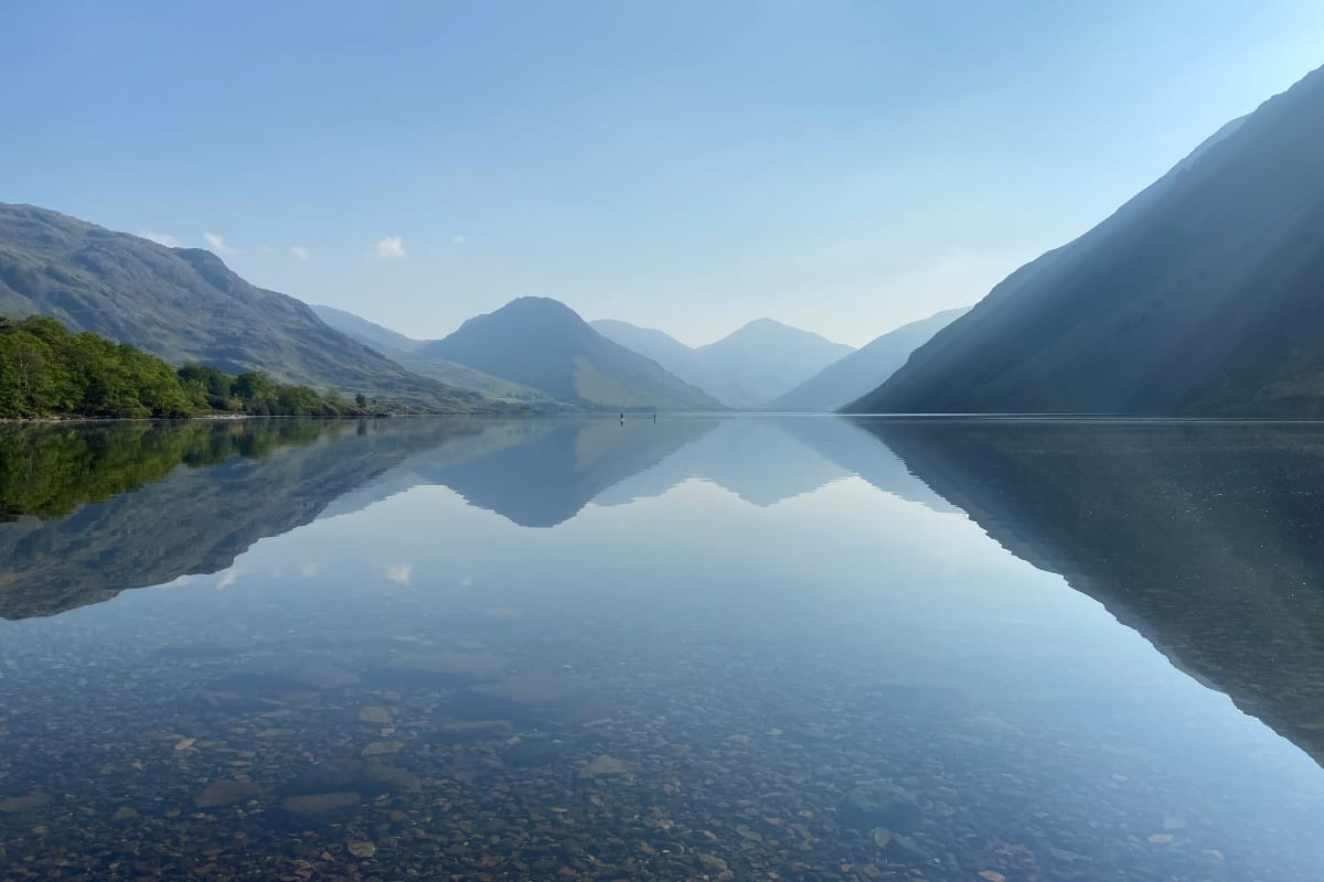 View from YHA Wasdale Hall