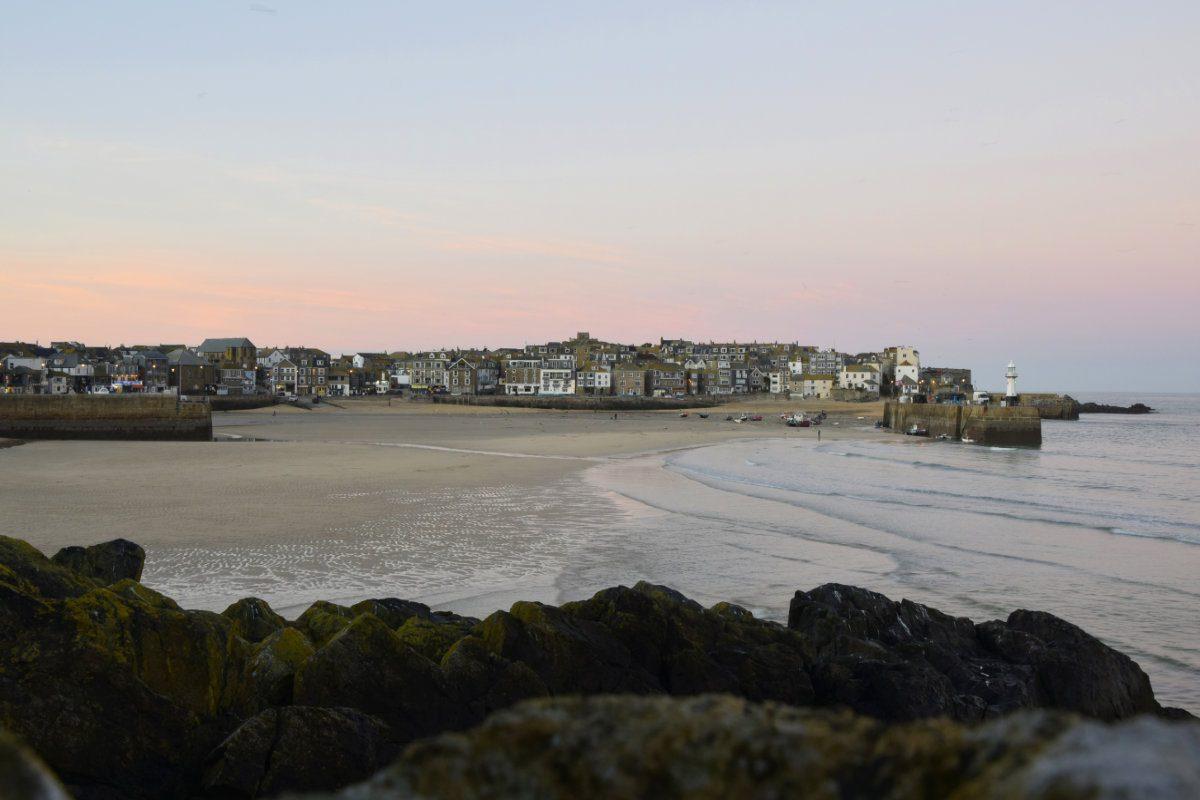 Convivial Cornwall beach