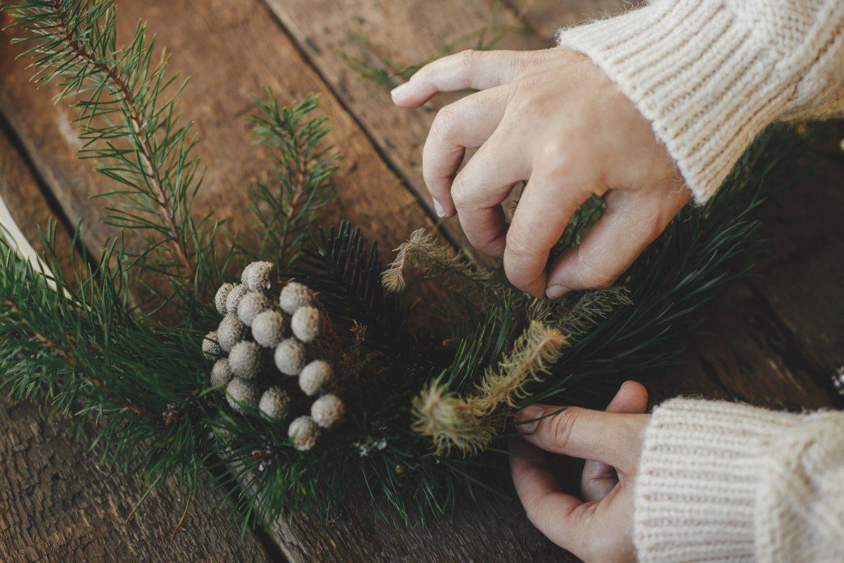 fir tree decoration