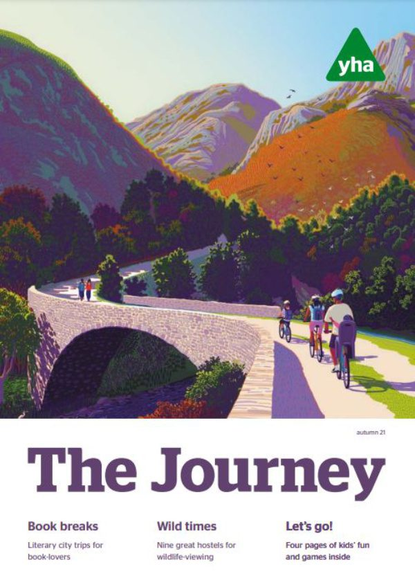 The Journey: autumn 2021 cover